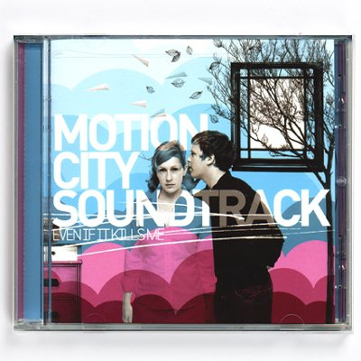 Motion City Soundtrack - Even If It Kills Me - CD