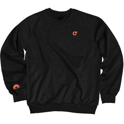 com-truise - Horizon Embroidered Crew Neck (Black)
