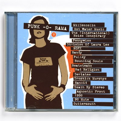 Punk O Rama - Punk-O-Rama - Vol. 7 - CD