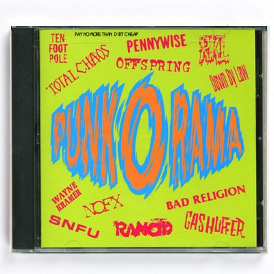 Punk O Rama - Punk-O-Rama - Vol. 1 - CD