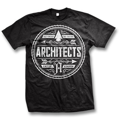 architects - Seal Logo T-Shirt (Black)