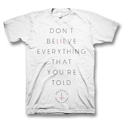 architects - Lie T-Shirt (White)