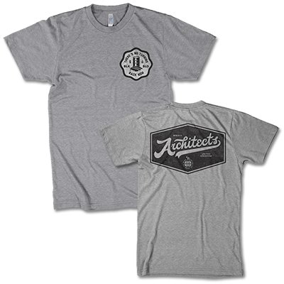 architects - No Turning Back T-Shirt (Heather Grey)