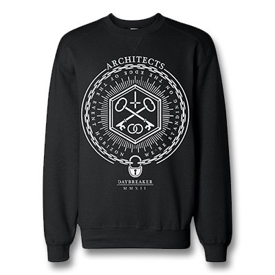 architects - Daybreaker Crew Neck Sweatshirt (Black)