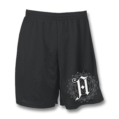 Champion Logo Shorts (Black)