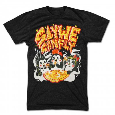 saywecanfly - Penguin Pizza Party Tee