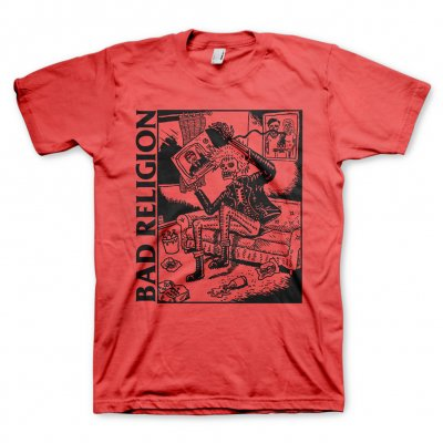 bad-religion - Television Tee (Red)