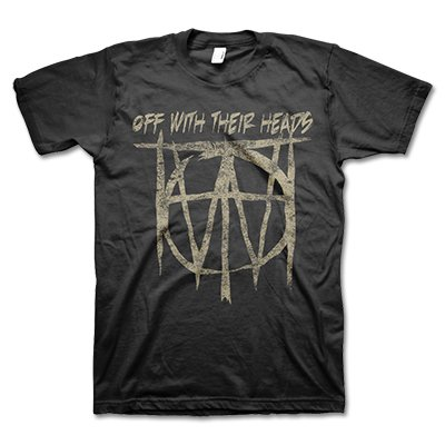 Off With Their Heads - New Sandy Logo T-Shirt