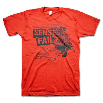 senses-fail - Cop Tee- Red