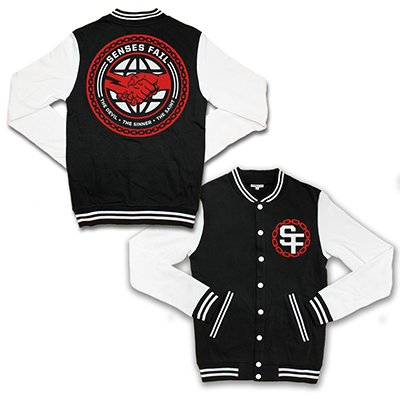 senses-fail - The Sinner Varsity Jacket