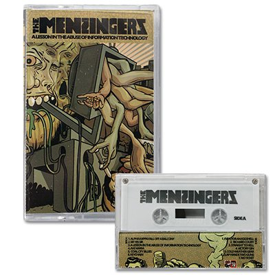 The Menzingers - A Lesson In The Abuse Of... - Cassette Tape