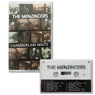 The Menzingers - Chamberlin Waits - Cassette Tape