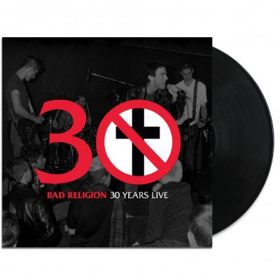 Bad Religion - 30 Years Live LP (Black)