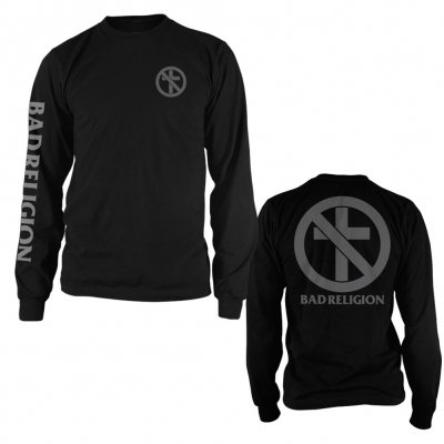 bad-religion - CrossBuster Mono Long Sleeve Tee (Black)