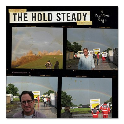 The Hold Steady - A Positive Rage - CD/DVD