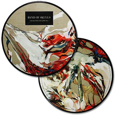 "Band Of Skulls - The Devil Takes Care Of His Own - 7"" Picture Disk"