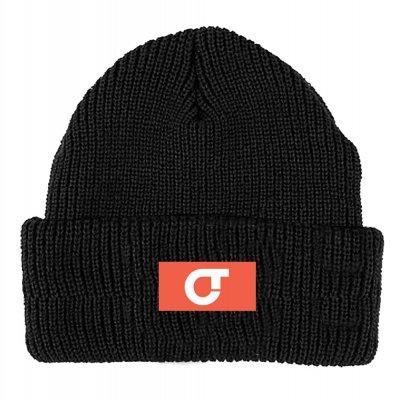 com-truise - Logo Knit Beanie (Black)