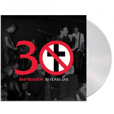 Bad Religion - 30 Years Live LP (Clear)