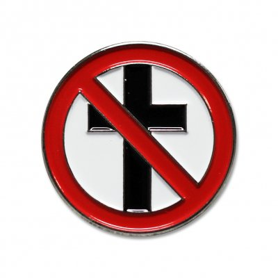 "bad-religion - Classic Crossbuster Enamel Pin (1.25"")"