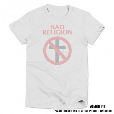bad-religion - Crossbuster Reverse Print Tee (Womens)