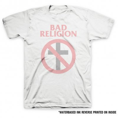 bad-religion - Crossbuster Reverse Print Tee (Mens)