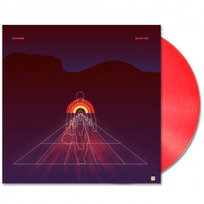 """com-truise - Silicon Tare 12"""" EP (Red)"""