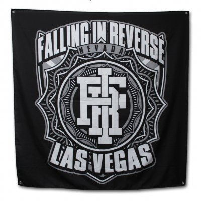falling-in-reverse - Las Vegas Flag (Black)