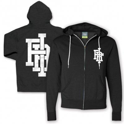 Falling In Reverse - Crest Logo Contrast Zip Hoodie (Black)
