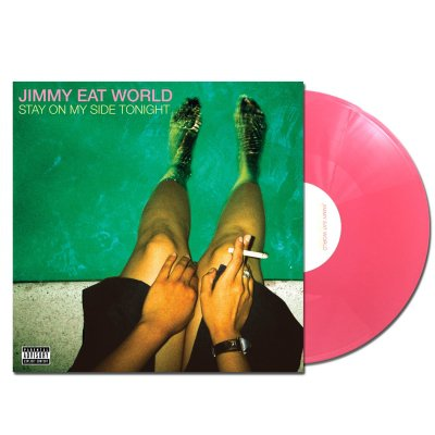 "Jimmy Eat World - Stay On My Side Tonight 12"" EP (Opaque Pink)"