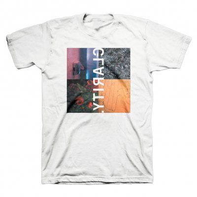Jimmy Eat World - Clarity Cover T-Shirt (White)
