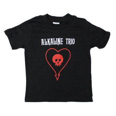 alkaline-trio - Heart Toddler Tee