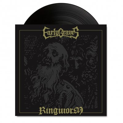 "early-graves - Early Graves / Ringworm - Split 7"" (Black)"