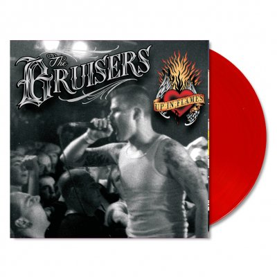 bruisers - Up in Flames LP (Red)