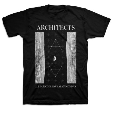 architects - All Our Gods Moon T-Shirt (Black)
