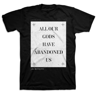 architects - All Our Gods Slate T-Shirt (Black)