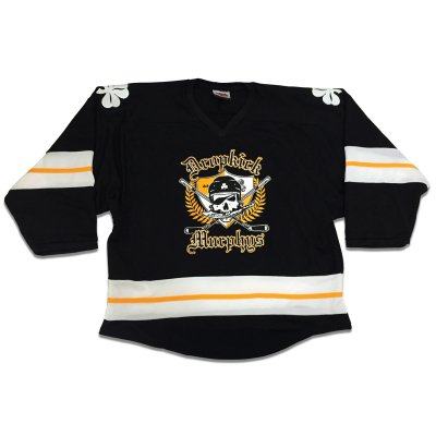 dropkick-murphys - 20th Anniversary Hockey Home Jersey (Black)