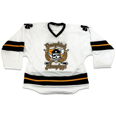dropkick-murphys - 20th Anniversary Hockey Away Jersey (White)