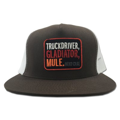 neko-case - Truckdriver Gladiator Mule Trucker Hat (Brown)