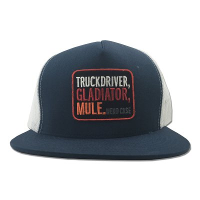 neko-case - Truckdriver Gladiator Mule Trucker Hat (Navy)