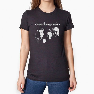 case-lang-veirs - Silhouette Tee