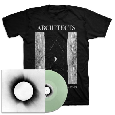 architects - All Our Gods Have Abandoned Us LP (Clear) + Moon T-Shirt Bundle