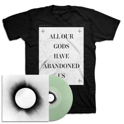 architects - All Our Gods Have Abandoned Us LP (Clear) + Slate T-Shirt Bundle