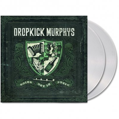 dropkick-murphys - Going Out In Style 2xLP (Coke Bottle Clear)