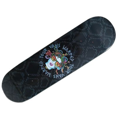 vans-warped-tour - Limited Edition Medusa Skateboard Deck
