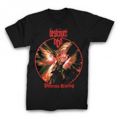 Destroyer 666 - Phoenix T-Shirt (Black)