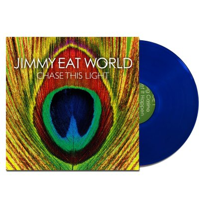 jimmy-eat-world - Chase This Light LP (Translucent Blue)