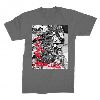wax-idols - Flowers 1 T-Shirt (Grey)