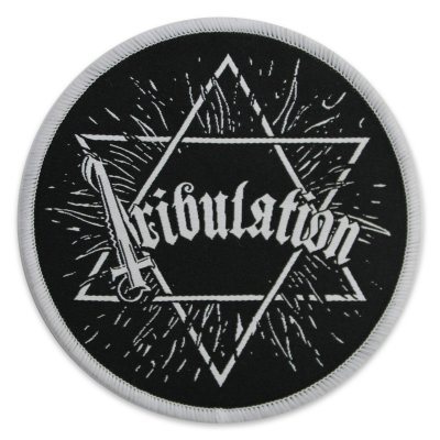 tribulation - Star Woven Patch