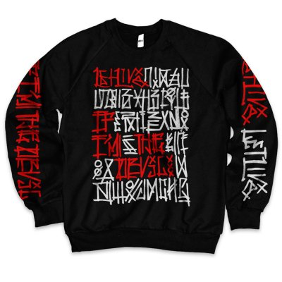 Letlive - Street Art Crew Neck (Black)