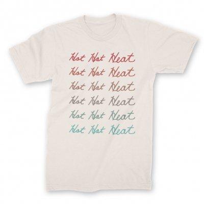 hot-hot-heat - Repeat T-Shirt (Natural)